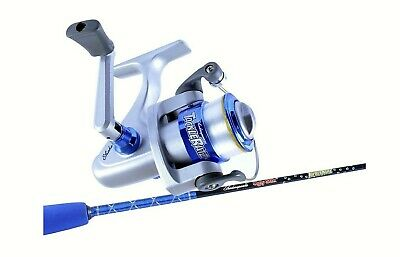 Ugly Stik Blue 3'9 Tackle Ratz Kids Rod & Reel Combo-1 Pce-Spooled With Line