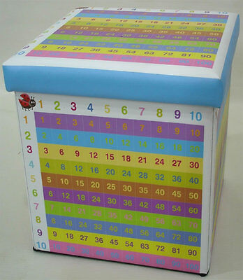 Times Table Storage Box and Seat