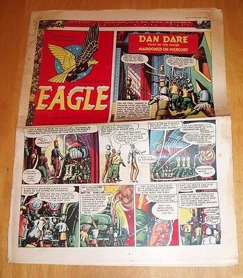 Eagle Comic Christmas Issue 1952  Pantomime Cutaway Drawing  Dan Dare  Pc 49