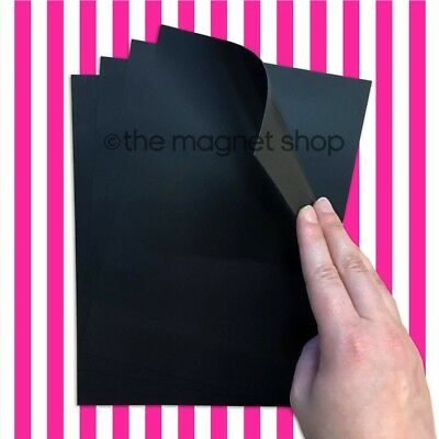 4 x A5 Magnetic Sheets 0.85mm Flexible for Die Storage, Spellbinders and Crafts