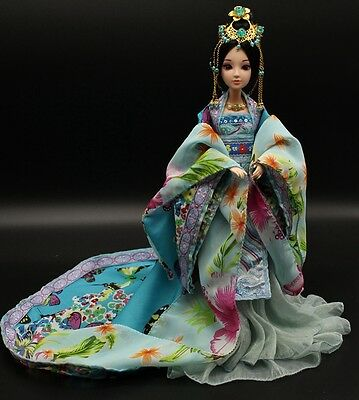 NEW RARE OOAK Chinese Collectible Toy Dolls Noble Consort Violet Free US ship