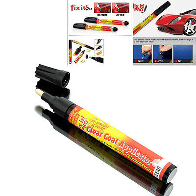 Car Scratch Remover Fix It Pro Mending Repair Paint Pen Clear Coat Applicator