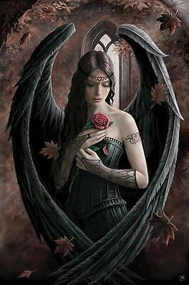 NEW * ANGEL ROSE *  ANNE STOKES   PYRAMID MAXI POSTER 62cm X 91cm  ...no28