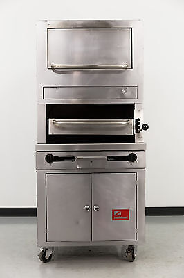 "Used Southbend 32BC 32"" Gas Salamander Broiler w/Warming Oven"