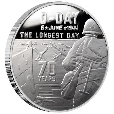 SD Bullion War Collection | D-Day Heroes WWII 1 oz Silver Proof