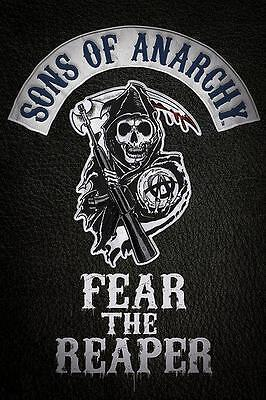 NEW * FEAR THE REAPER * SONS OF ANARCHY PYRAMID MAXI POSTER 62cm X 91cm  ...no86