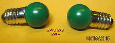 Lionel Bulb, # 2432G (24v) for many applications (2)