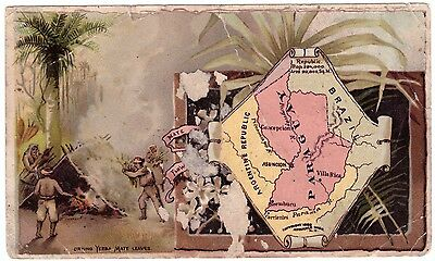 Paraguay VTC Victorian Trade Card Arbuckles Coffee # 73 T