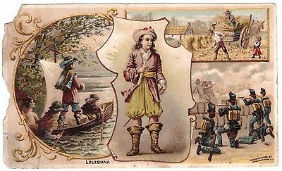 Louisiana VTC Victorian Trade Card Arbuckles Coffee # 30 T