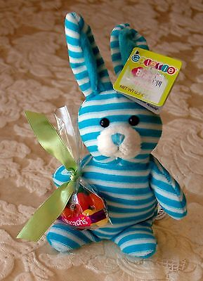 "Galerie Easter 9"" Plush Rabbit Bunny With Brach's Jelly Bean Candy Nwt"