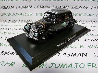 TRA71 voiture 1/43 atlas traction NOREV  traction Rosalie IX 1934 Yacco