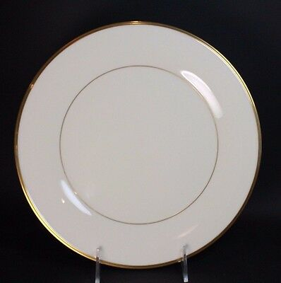 """Lenox China - ETERNAL - Ivory with Gold Trim, Dinner Plate 10 1/2"""""""