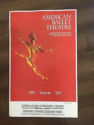 "14"" X 22"" Poster of the ""American Ballet Theatre""-Baryshnikov"