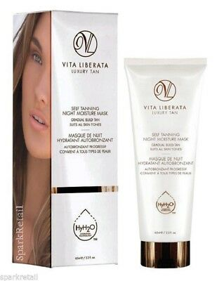 Vita Liberata Gradual Luxury Tan Self Tanning NIGHT Moisture Face MASK 65ml