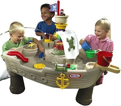Little Tikes Water Play Table Anchors Away -Kids Pirate Ship Sandpit Water Play