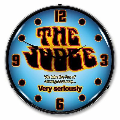 GTO The Judge Lighted Wall Clock