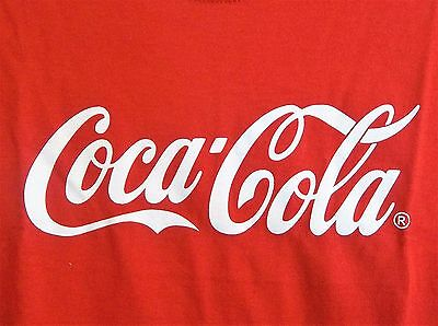 Coca-Cola Brand Logo T-Shirt Adult XL X-Large New w/o Tags