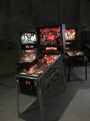Theatre Of Magic Pinball Arcade Machine By Bally Gorgeous Theater