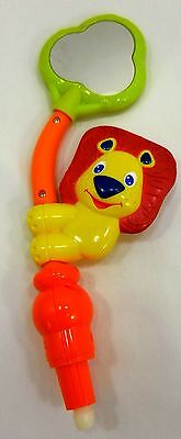 Bright Starts Bounce Baby Activity Zone Jumper Part Lion Swivel Mirror Toy 4529