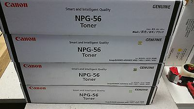 4x Genuine Canon NPG56 or TG56 Toners for IR4045/ IR4051 Brand New See Photos~