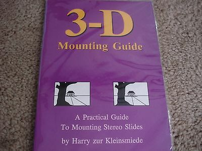 Practical Guide to Mounting Stereo 3D Slides Realist  - Booklet