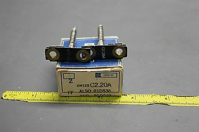2 New Ge Overlaod Relay Heaters Thermal Unit Cr123 C2.20A  (S24-1-54)