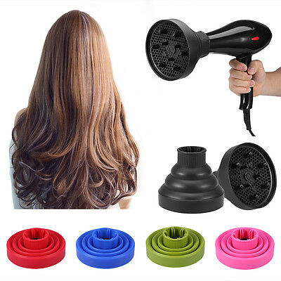 Silicone Foldable Hairdryer Diffuser Hair Dryer Blower Foldable Diffuser Tool es