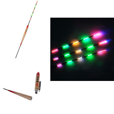 New Fishing Tackle Tools Accessories Floats 5pcs LED Fishing Float with Battery