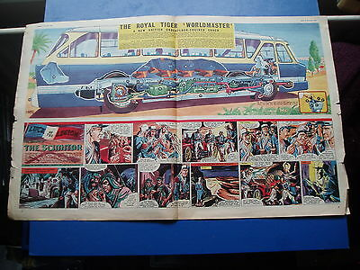 Eagle Cutaway 14/12/1956  Royal Tiger  Worldmaster Coach   Leyland For Italy