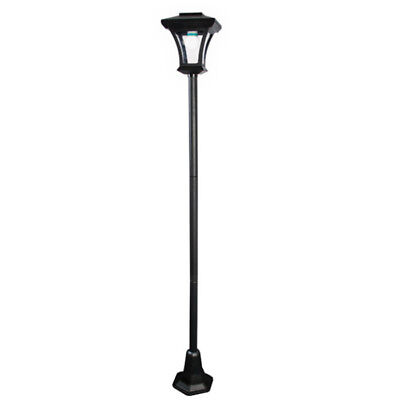 1.66M Traditional Style Solar Lamp Post Led Light Outdoor Garden Driveway Patio