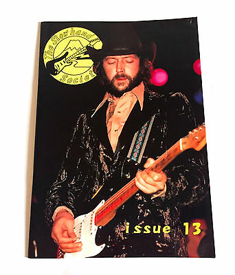 ERIC CLAPTON The Slowhand Society JAPAN FAN MAGAZINE 1996 #13