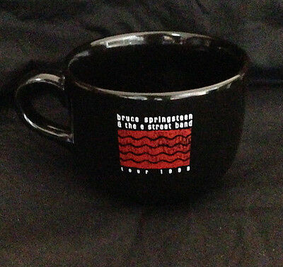 Bruce Springsteen & The E Street Band - Tour 1999 Cup / Mug. Black Unused
