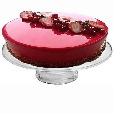 34cm Large Acrylic Birthday Cake Plate Stand Cupcake Muffin Display Serving