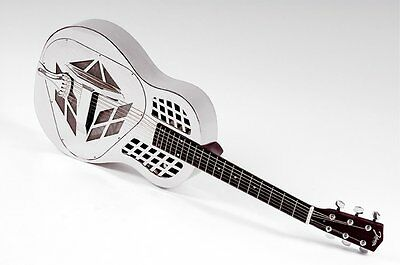 RESONATOR GUITAR JOHNSON JM-999 chrome Tricone 1. CHOICE NEW (RRP 2017