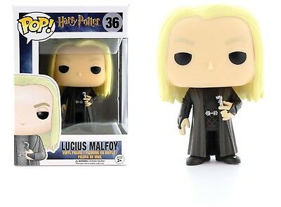 Funko Pop Movies Harry Potter: Lucius Malfoy Vinyl Action Figure Collectible Toy
