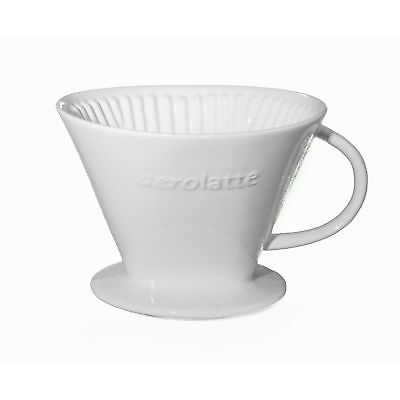 Aerolatte Ceramic Coffee Filter Size 4 - Made from Finest Porcelain