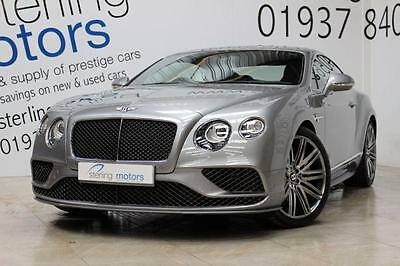2015 Bentley Continental 6.0 W12 [635] Speed 2dr Auto Petrol grey Automatic
