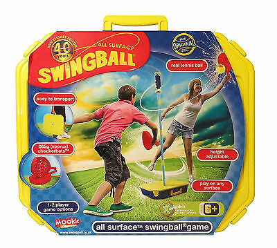 All Surface Swingball Toys for Kids Garden Play Swing Ball Sets Outdoor Tennis