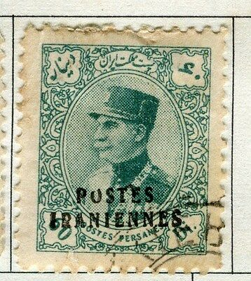 MIDDLE EAST:  1935 early POSTES Optd. issue fine used  60d. value