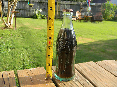 Rare Vintage Coca Cola Bottle Jacksonville  Fla 6 Oz. Coke Bottle