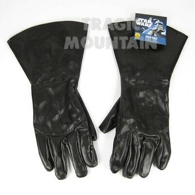 DARTH VADER Black Gloves STAR WARS Costume Gauntlets Adult