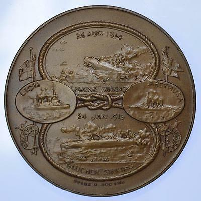 WWI - 1915 actions of Heligoland and Dogger Bank bronze medal by Spink