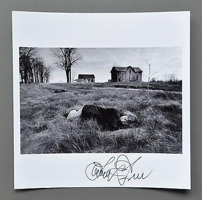 Larry Towell Signed Magnum Archival Photo Print 15x15 Wife Ann Rural Ontario '97