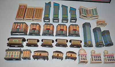 HOTELS Milton Bradley Replacement HOTELS for Board Game 1980s - rj