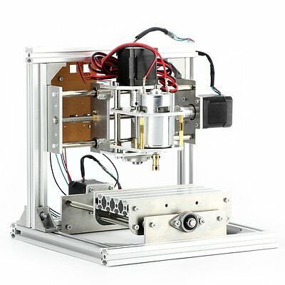 CNC Router Milling Machine Engraver Acrylic Wood Crafts DIY Carving 3 Axis Tool