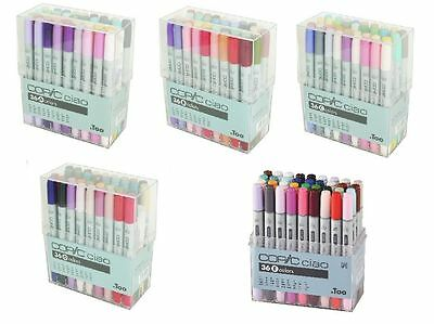 Too Copic Ciao 36 Colors Markers Set A/B/D/E Professional Artist & Craft Markers