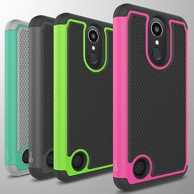 For LG K20 Plus / K20 V / K20V Case Tough Protective Hard Hybrid Phone Cover