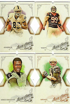 2015 Topps Allen & Ginter Die Cut NFL Football Singles You Pick One or More