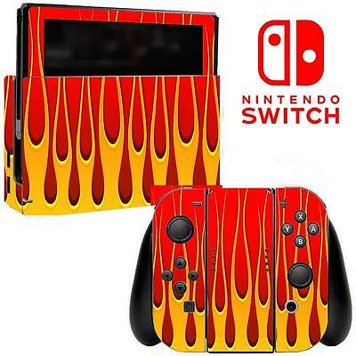 Vinyl Skin Decal Sticker Wrap for Nintendo Switch Console Joy-Con Dock 119