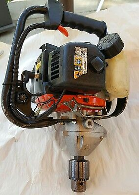 TANAKA TED-270PFL  GAS POWERED DRILL, w/ chuck key
